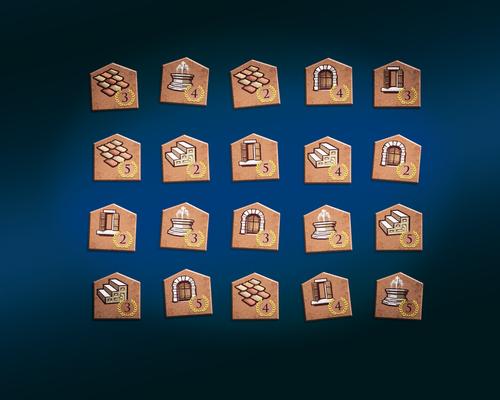 Los edificios del juego
