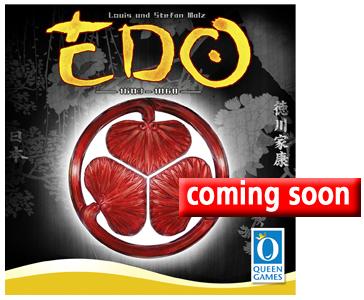 Portada de Edo (fotografía de Queen Games)