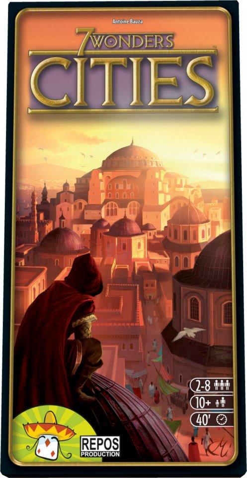 Portada de 7 Wonders Cities, obra de Miguel Coimbra