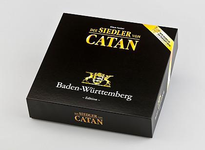 Caja de la edición especial Baden-Württemberg de Colonos de Catán