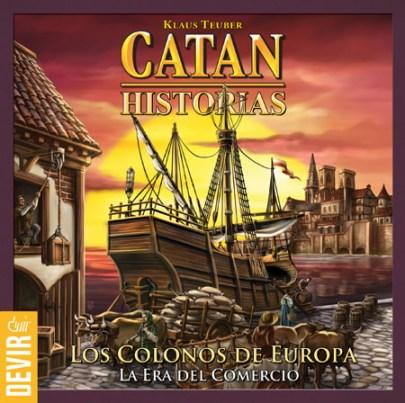 Portada de Catan Historias: Los Colonos de Europa