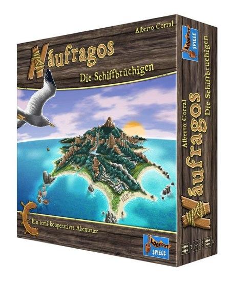 Portada de la edición alemana de Náufragos