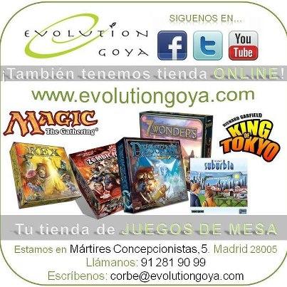 Evolution Goya