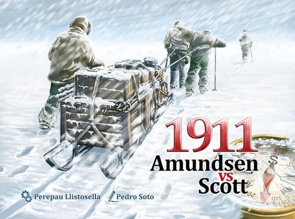 Portada de 1911 Amundsen vs. Scott