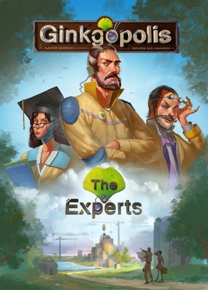 Portada de Ginkgopolis -The Experts