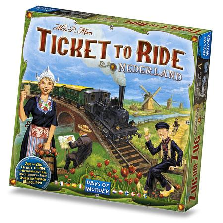 Caja de Ticket to Ride: Netherlands