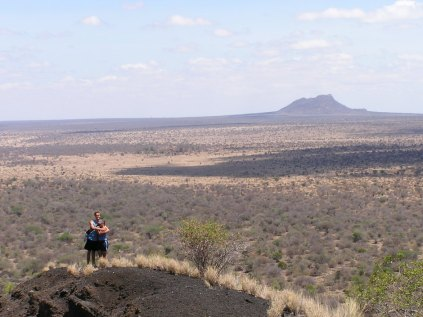 View from Chyulu Hills (photo by Teru)