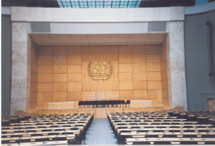 The UN in Geneva, Switzerland, by Cindy Kraft
