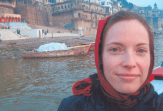 Varanasi, India, by Cindy Kraft