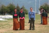 bhutan-bumthang-by-lindsey-weaver-kate-with-two-bhutanese-school-girls-2006