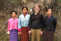 bhutan-bumthang-by-lindsey-weaver-with-some-schoolgirls-i-met-on-a-walk-2006
