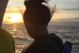 galapagosgs_by-sarah-palmer-student-at-sunset-2014-2015