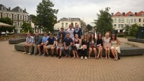 MaastrichtGS by Antonio Papuzza, 'Group Shot with Fountain'