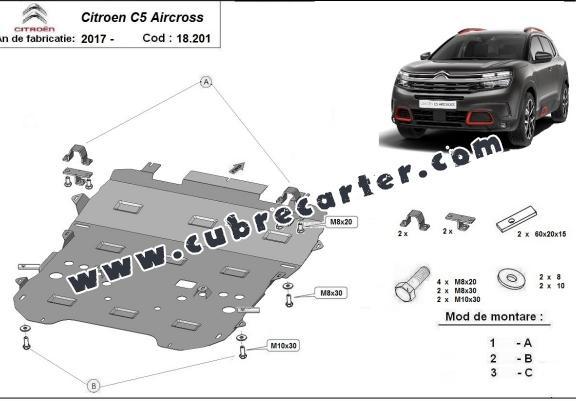 Cubre carter metalico Citroen C5 Aircross