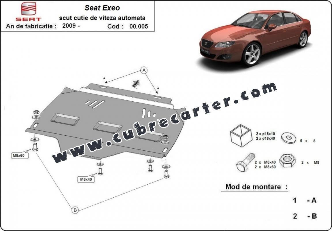 Protección del caja de cambios Seat Exeo