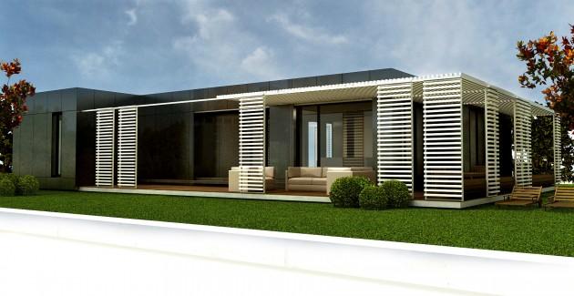 Porches De Casas Modernas Porches Con Cubierta En Cristal