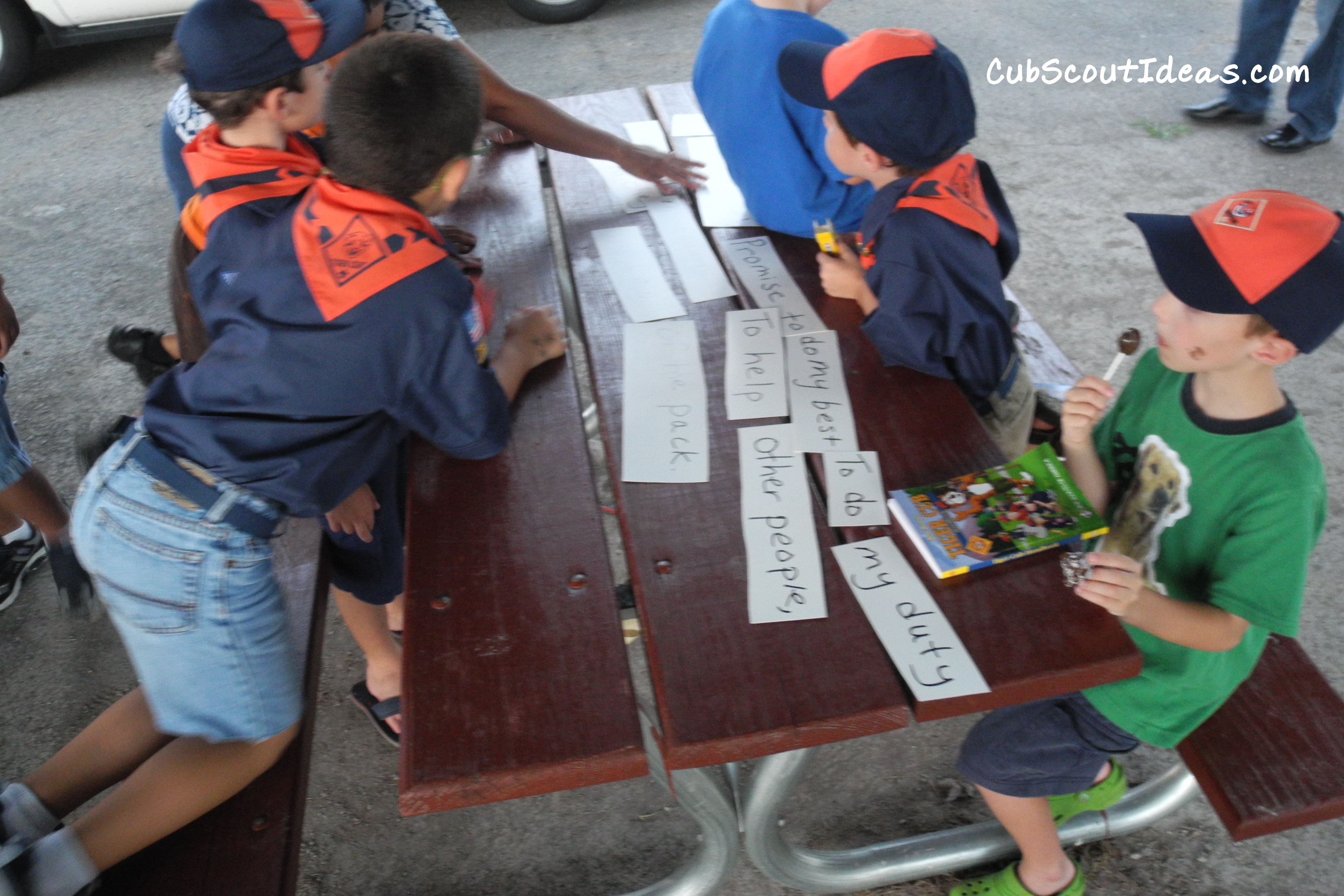 Cub Scout Bobcat Requirements Balloon Bust Game