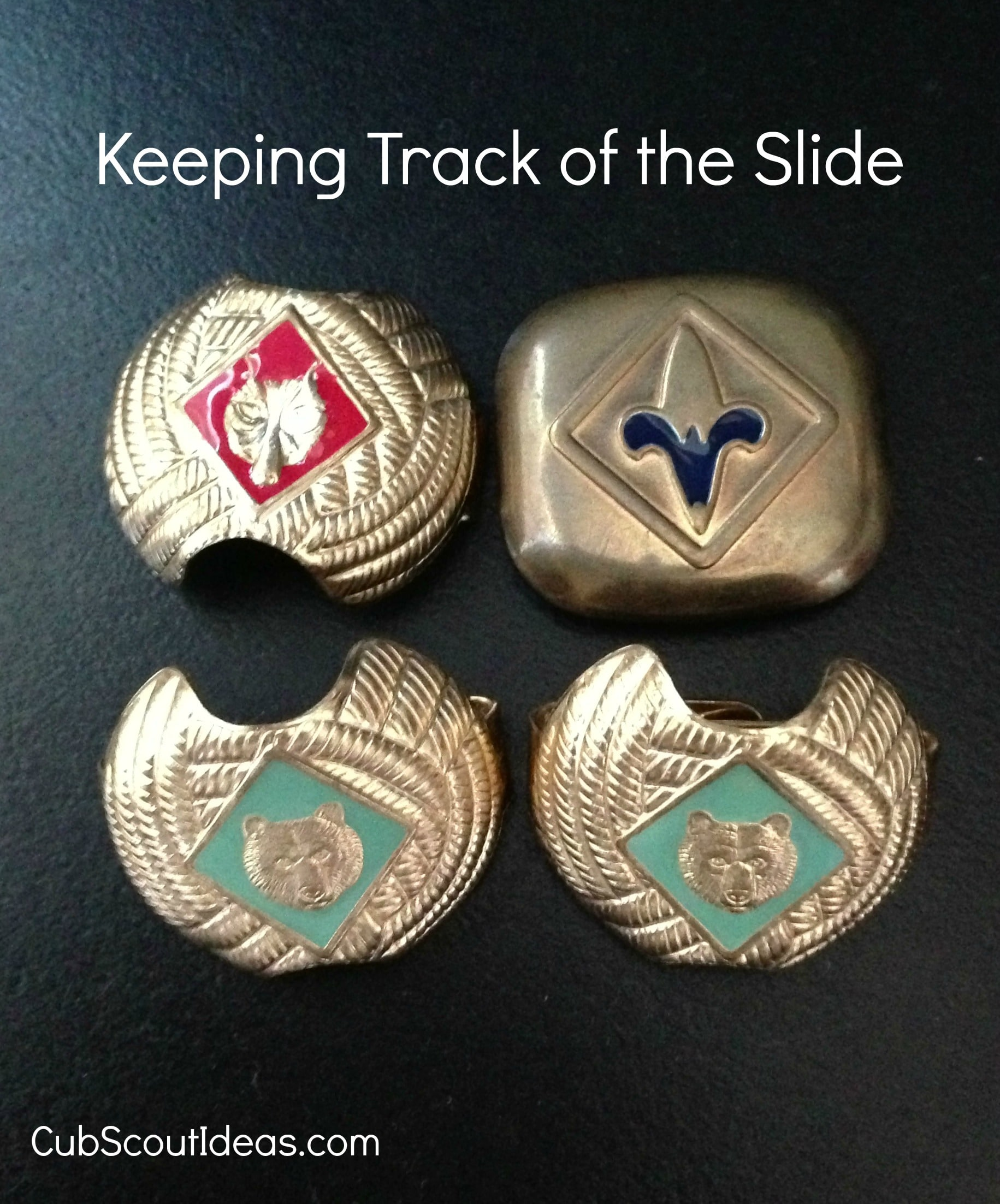 Keeping Track Of The Cub Scout Neckerchief Slide