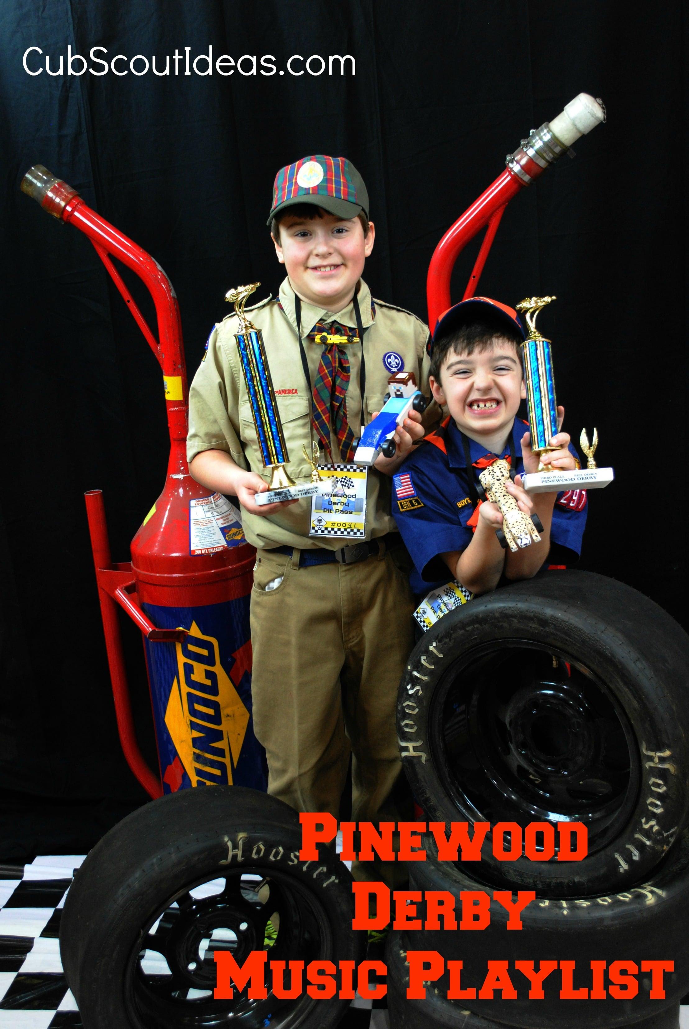 Fun Pinewood Derby Music
