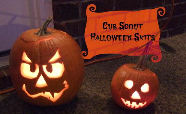 Cub Scout Halloween Skits Cub Scout Ideas