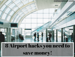 8 Airport hacks you need to save money!