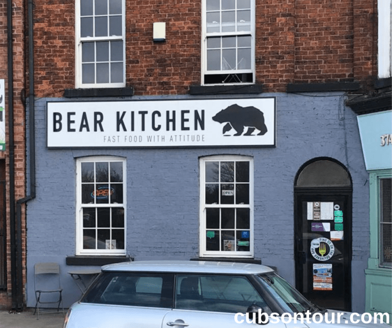 Bear Kitchen Wakefield Restaurant Review: Burger Trail 1. Bear Kitchen outside location.