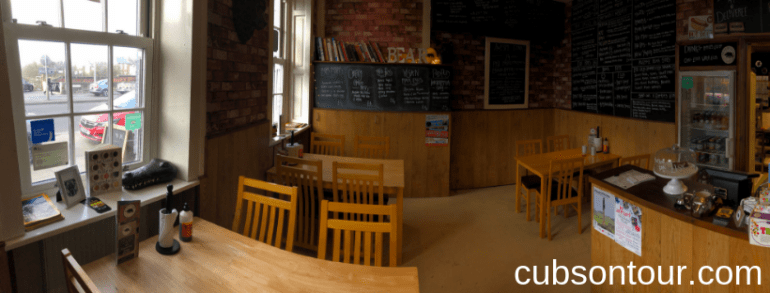 Inside of the Bear Kitchen Restaurant and take away in Wakefield
