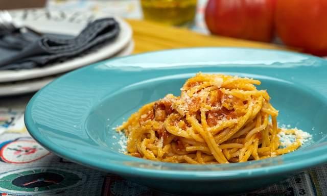 Espaguete Amatriciana