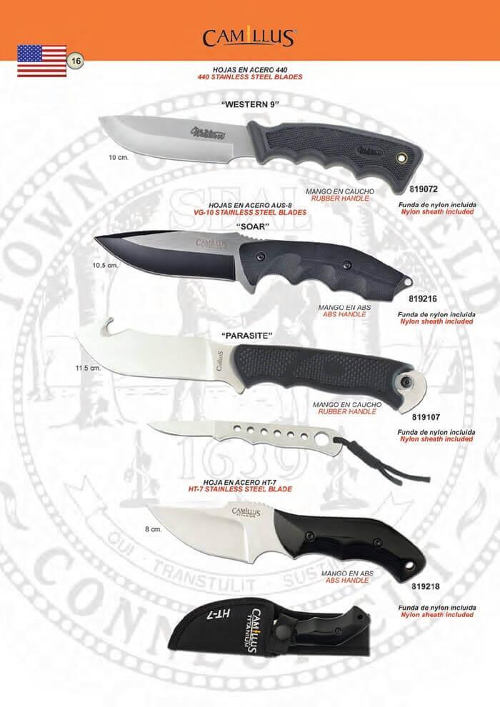 CUCHILLOS TACTICOS CAMILLUS 2 Camillus  cuchillos