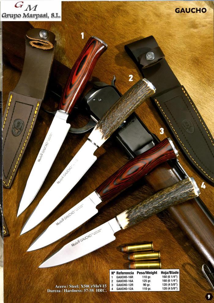 GAUCHO KNIVES Muela  hunting knives hunting knives