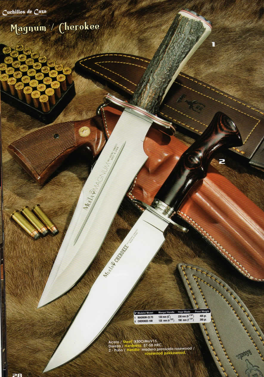 CUCHILLOS MAGNUM CHEROKEE Muela  cuchillos tacticos y