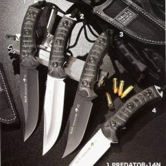 Folding Chairs In Bags High Chair Replacement Cover Predator-14w - Tactical Knives Muela Predator Cutlery