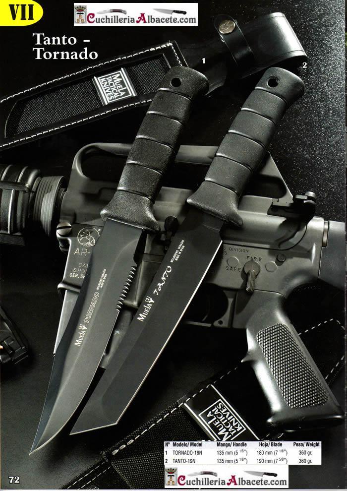 TANTO TORNADO Muela  tactical knives tactical TORNADO 18