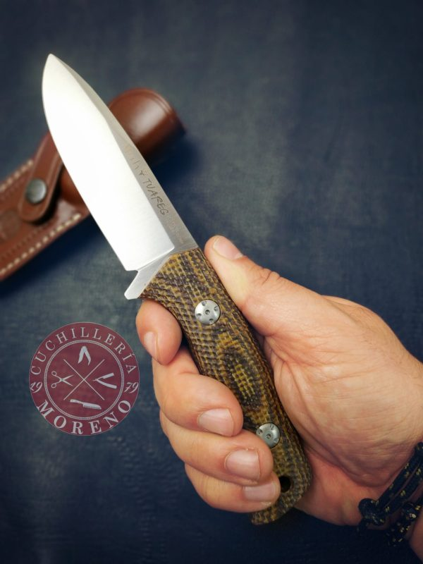 Cuchillo Muela Tuareg Yute 10G