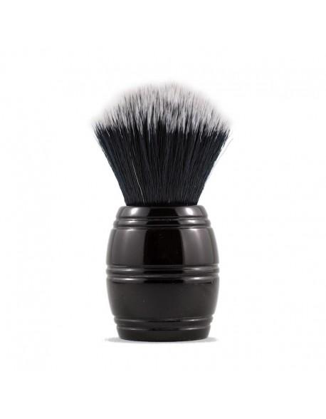 Brocha de afeitar Razorock Barrel Negra 24mm