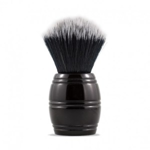 Brocha de afeitar Razorock Barrel Negra 24mm