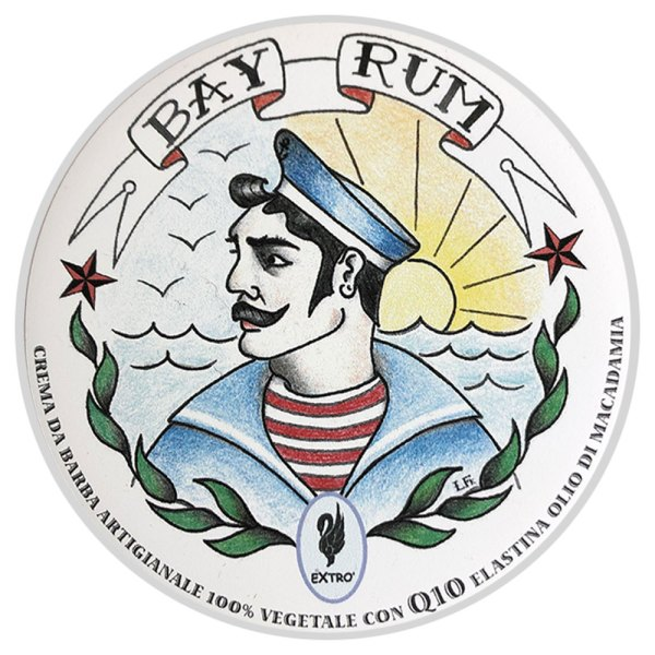 crema de afeitar extro bay rum