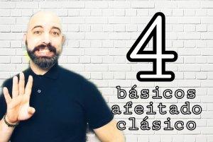 guía para iniciacion afeitado clasico