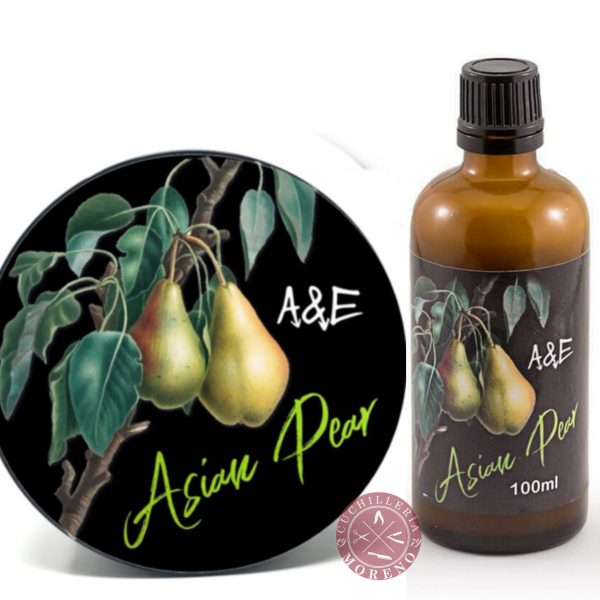jabon afeitar after shave asian pearl a&e
