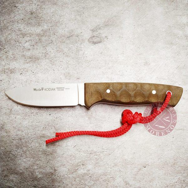 cuchillo de caza supervivencia muela kodiak