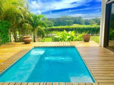 Playa Hermosa Home Pool Site View