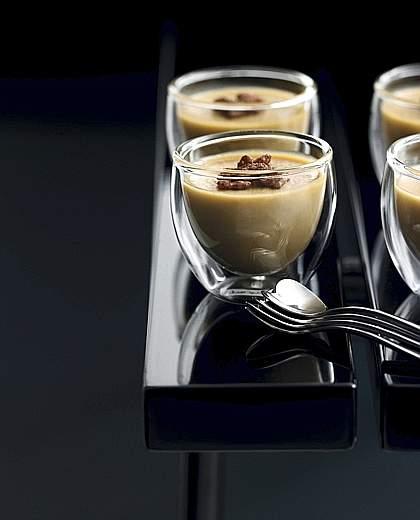 Risultati immagini per panna cotta al caffè solubile