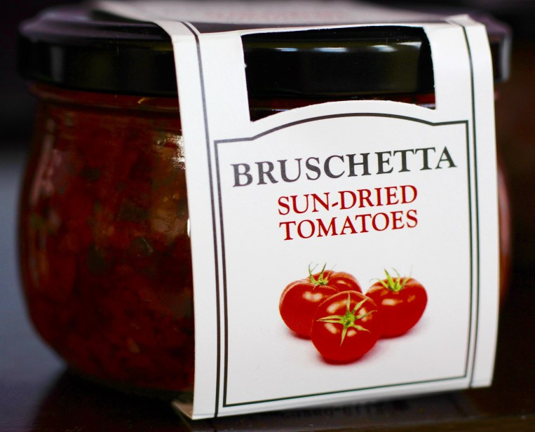 jar of Cucina & Amore Sun-Dried tomatoes