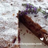 Torta alle ciliegie e grano saraceno