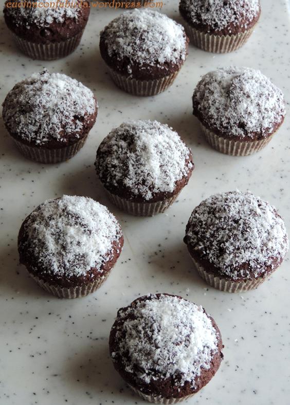 Muffins al cioccolato e cocco (3/3)