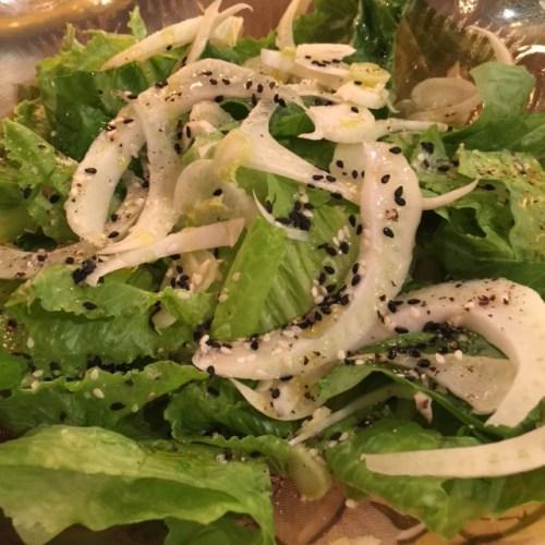 Asian fennel salad