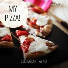 la mia pizza a lenta lievitazione