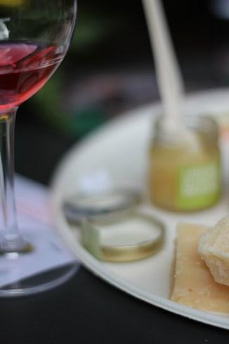 parmigiano e vino