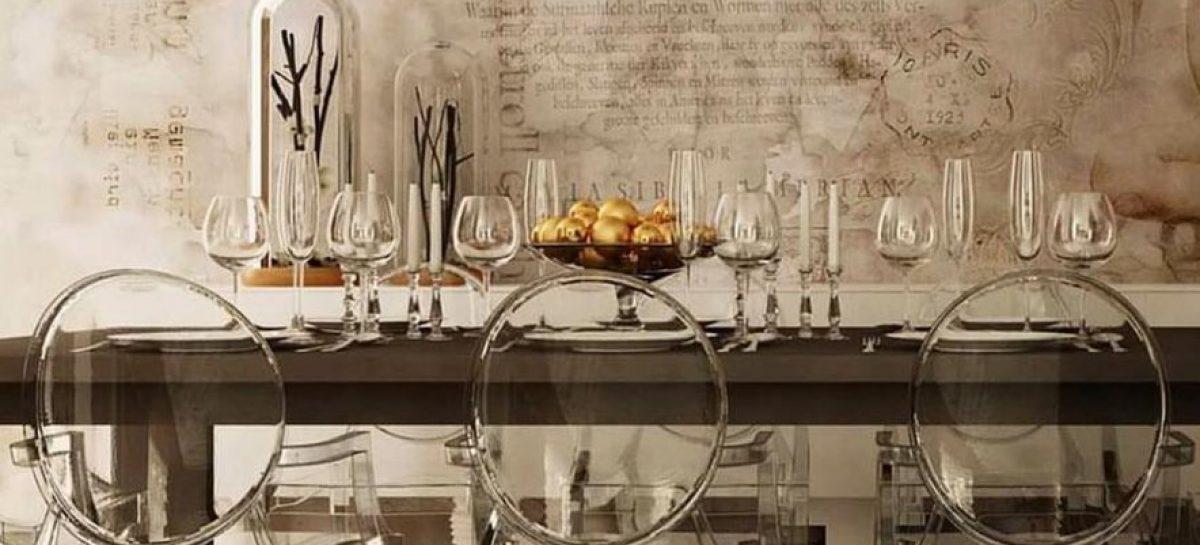 Sedie trasparenti di design per cucina Liconica Louis