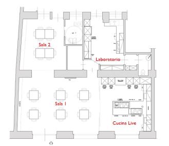 Planimetria di Cucina In